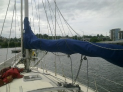 Sail Cover, Mainsail Cover, Boom Cover, Stack Pack, Lazy Jack.